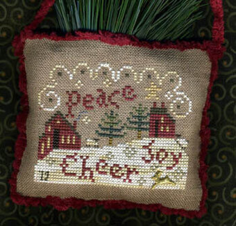 Spirit Of Christmas Sampler - Cross Stitch Pattern