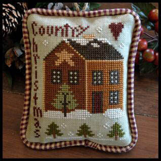 2012 Ornament 9 Country Christmas - Cross Stitch Pattern