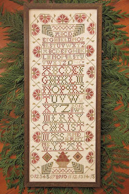 Christmas Band Sampler - Cross Stitch Pattern