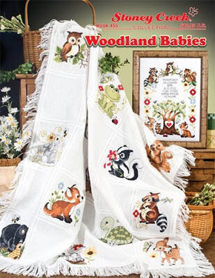 Woodland Babies - Cross Stitch Pattern