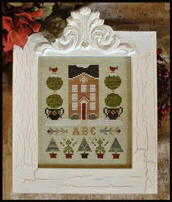Holiday House - Cross Stitch Pattern