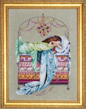 Sleeping Princess - Mirabilia Cross Stitch Pattern