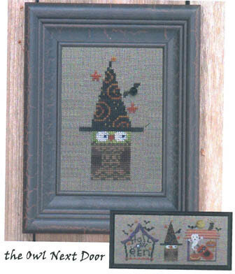 District 13 Owl Next Door - Cross Stitch Pattern