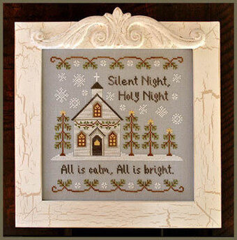 Silent Night - Cross Stitch Pattern