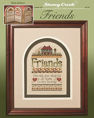 Friends - Cross Stitch Pattern