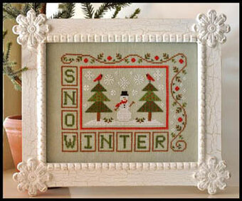 Winter Snow - Cross Stitch Pattern