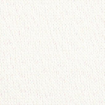 25 Count White Opalescent Lugana Fabric 18x27