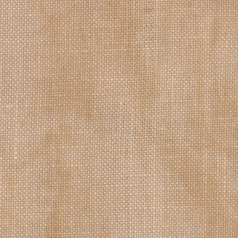Zweigart 40 Count Country Mocha Newcastle Linen Fabric