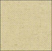 25 Count Oatmeal Evenweave Fabric 17x36
