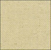 25 Count Oatmeal Evenweave Fabric 9x17