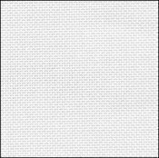 32 Count White Evenweave Fabric 17x18