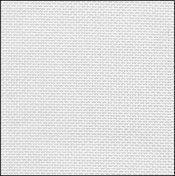 32 Count White/Silver Evenweave Fabric 9x17
