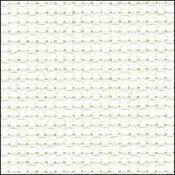 14 Count Antique White Aida Fabric 18x30