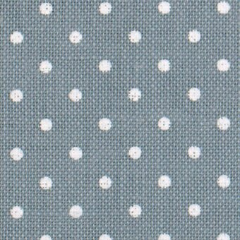 32 Count Petit Point Blue/White Belfast Linen Fabric 13x18