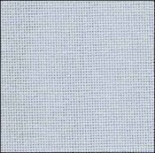 28 Count Ice Blue Lugana Fabric 27x36