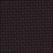 14 Count Black Aida Fabric 18x30