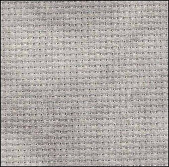 14 Count Tarnished Aida Fabric 18x19