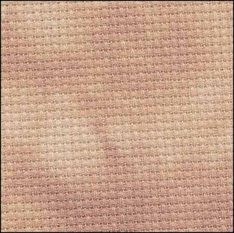 14 Count Pecan Aida Fabric 18x19