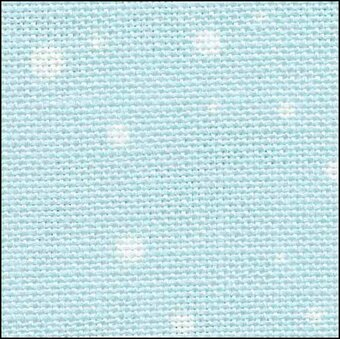 28 Count Snow Linen Fabric 17x19