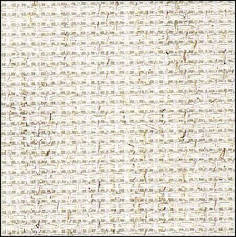 14 Count Light Oatmeal Aida Fabric 15x18