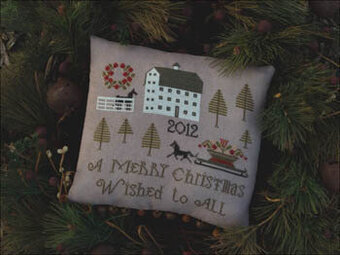 Farmstead Christmas - Cross Stitch Pattern