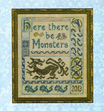 Antique Celtic Sampler - Cross Stitch Pattern