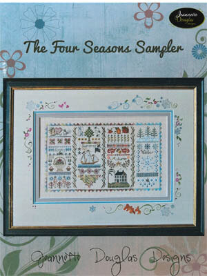Four Seasons Sampler - Cross Stitch Pattern