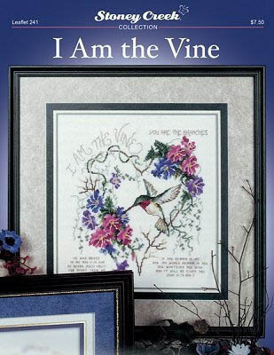 I Am the Vine - Cross Stitch Pattern
