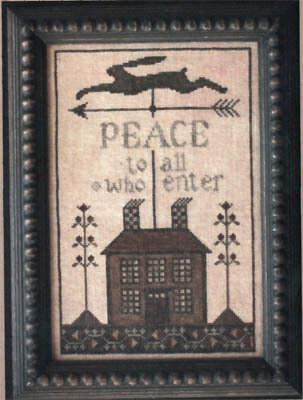 Peace House - Cross Stitch Pattern