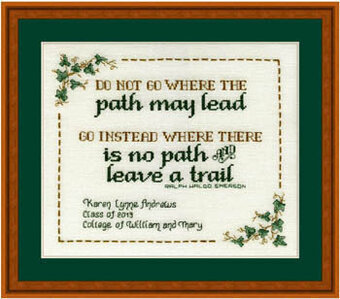 Graduate's Journey - Cross Stitch Pattern