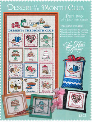 Dessert of the Month - Part 2 - Cross Stitch Pattern