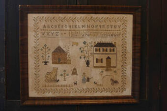 Spring at Hollyberry Farm - Cross Stitch Pattern