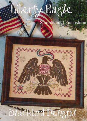 Blackbird Designs Liberty Eagle Cross Stitch Pattern