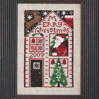 Must Be Santa - 2009 Santa - Cross Stitch Pattern