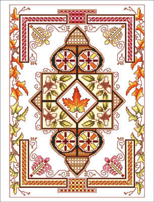 Celtic October - Cross Stitch Pattern