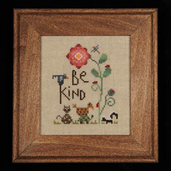 Be Kind - Cross Stitch Pattern