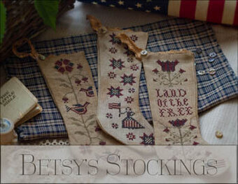 Betsy's Stockings - Cross Stitch Pattern