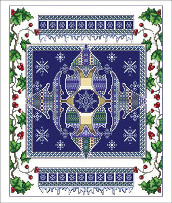 Celtic January - Cross Stitch Pattern