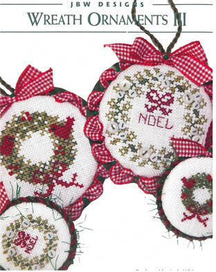 Wreath Ornaments III - Cross Stitch Pattern