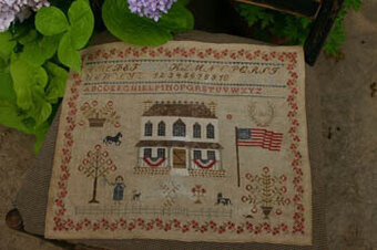 Summer at Hollyberry Farm - Cross Stitch Pattern