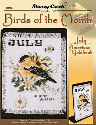 Bird of the Month - July (American Goldfinch)