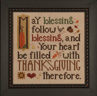 Thanksgiving Blessing - Cross Stitch Pattern