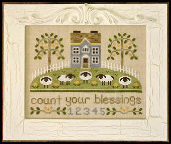 Count Your Blessings - Cross Stitch Pattern