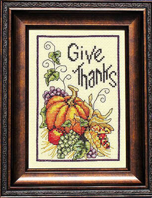 Thanksgiving Wish - Cross Stitch Pattern