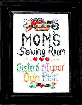 Mom's Sewing Room - Cross Stitch Pattern