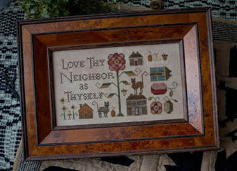 Love Thy Neighbor - Cross Stitch Pattern