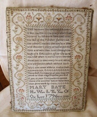 Mary Bate - Cross Stitch Pattern