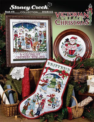 Victorian Village Christmas - Cross Stitch Pattern