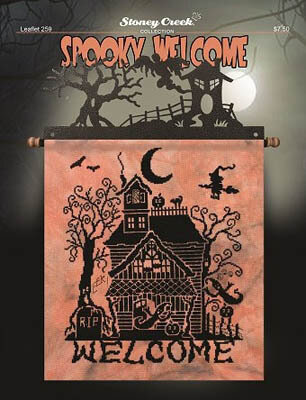 Spooky Welcome - Cross Stitch Pattern