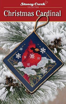 Christmas Cardinal - Cross Stitch Pattern